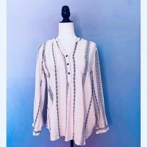 Urban Outfitters Blu Pepper boho blouse